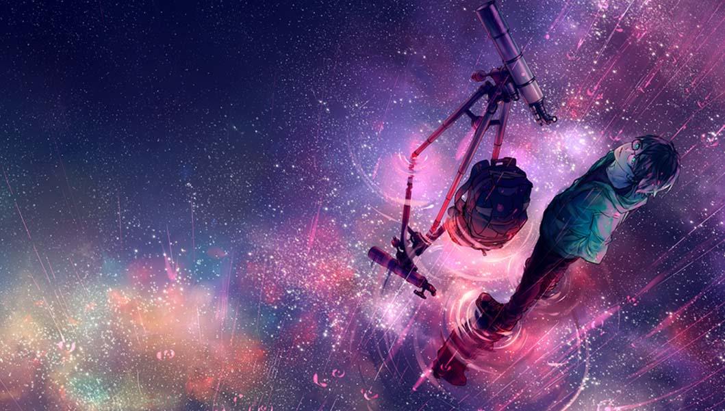 Ảnh anime galaxy đẹp và độc