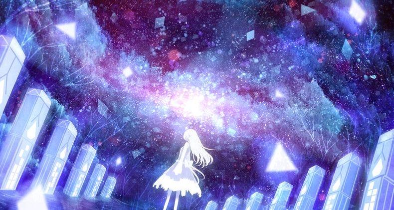 Ảnh anime galaxy đẹp và lạ
