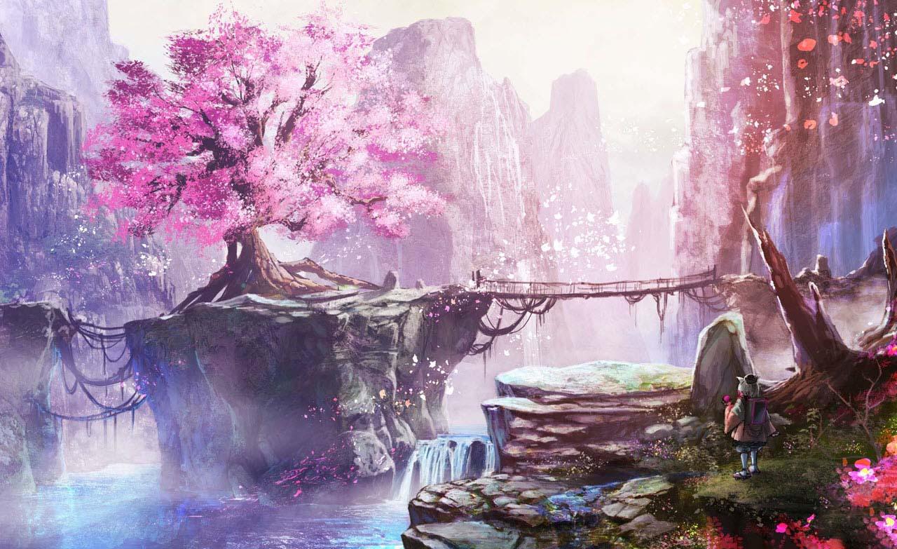 Tổng hợp background anime đẹp