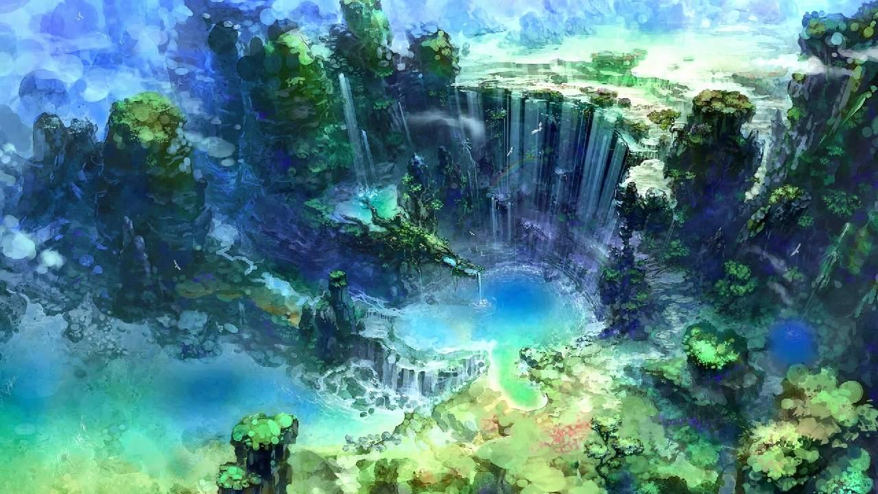 Ảnh đẹp về anime phong cảnh