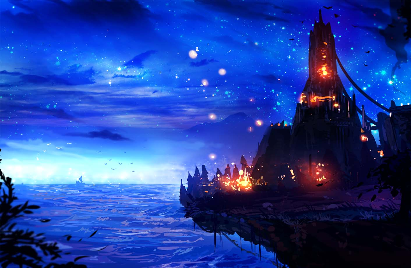 Anime galaxy cực đẹp