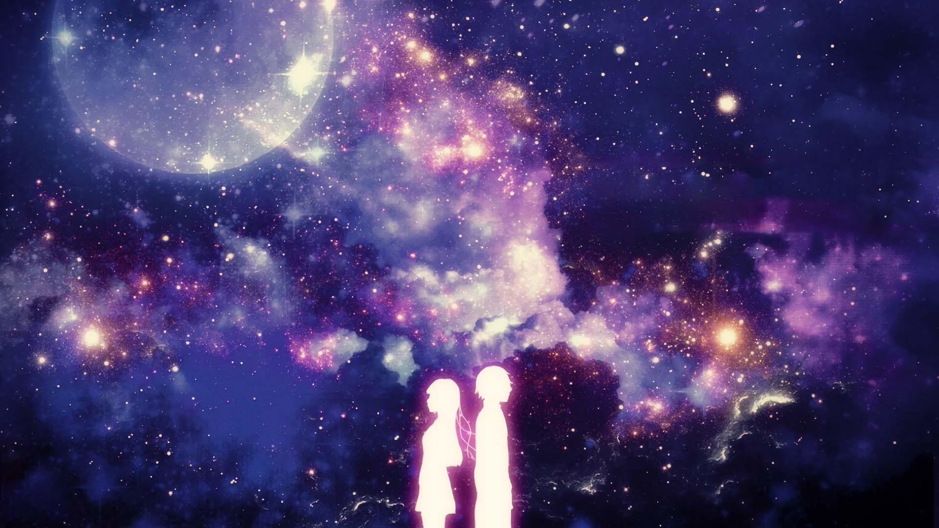 Anime galaxy đẹp