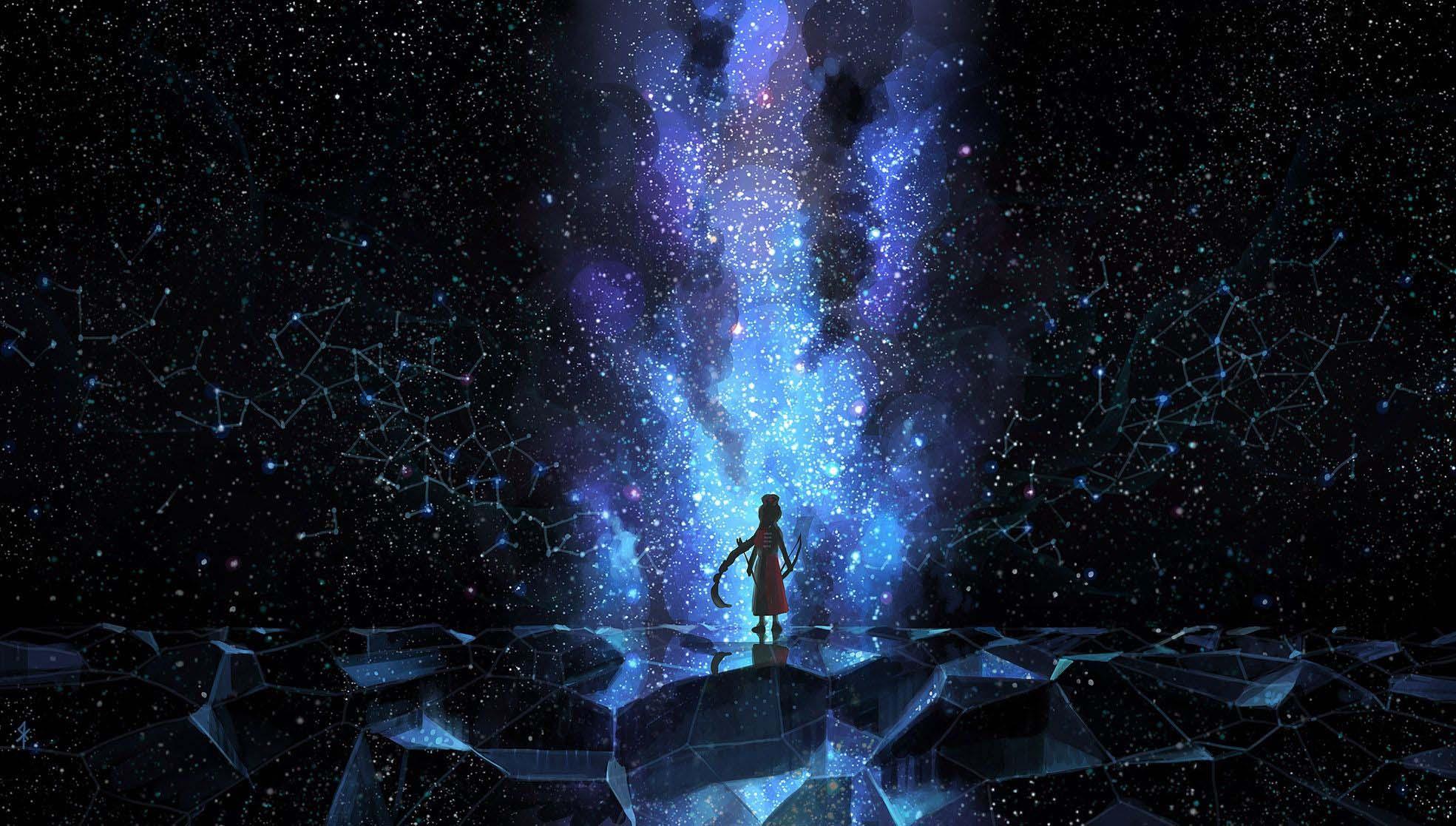 Anime galaxy hiếm và đẹp