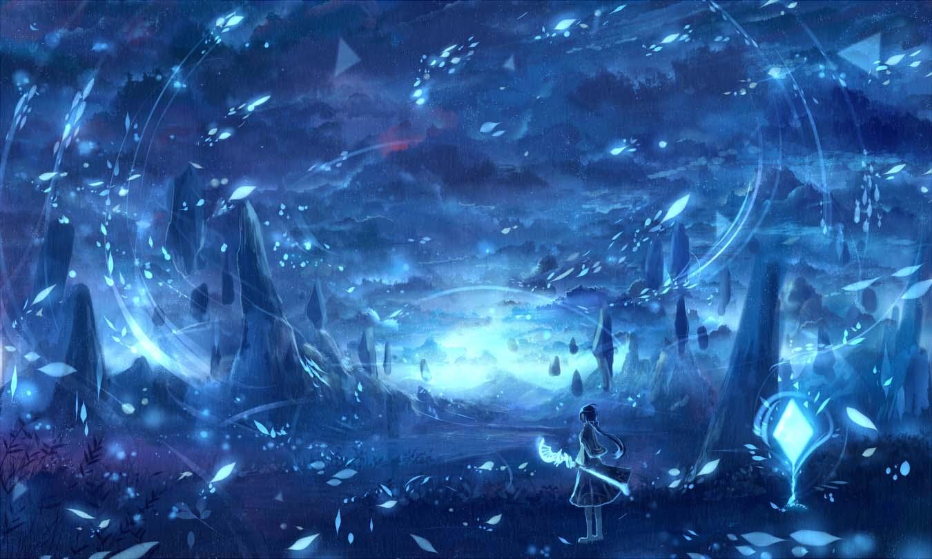 Anime galaxy huyền ảo