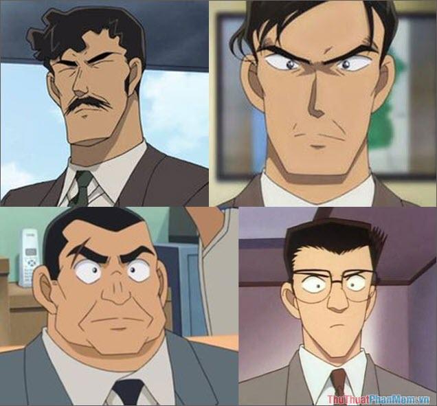 Các nhân vật của sở cảnh sát Osaka