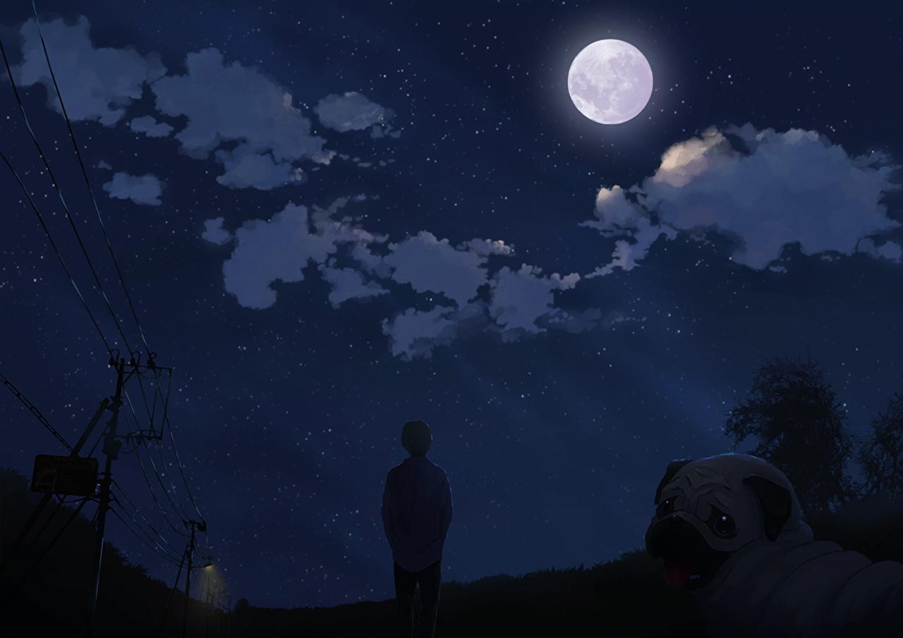 Hình ảnh anime galaxy đẹp và độc