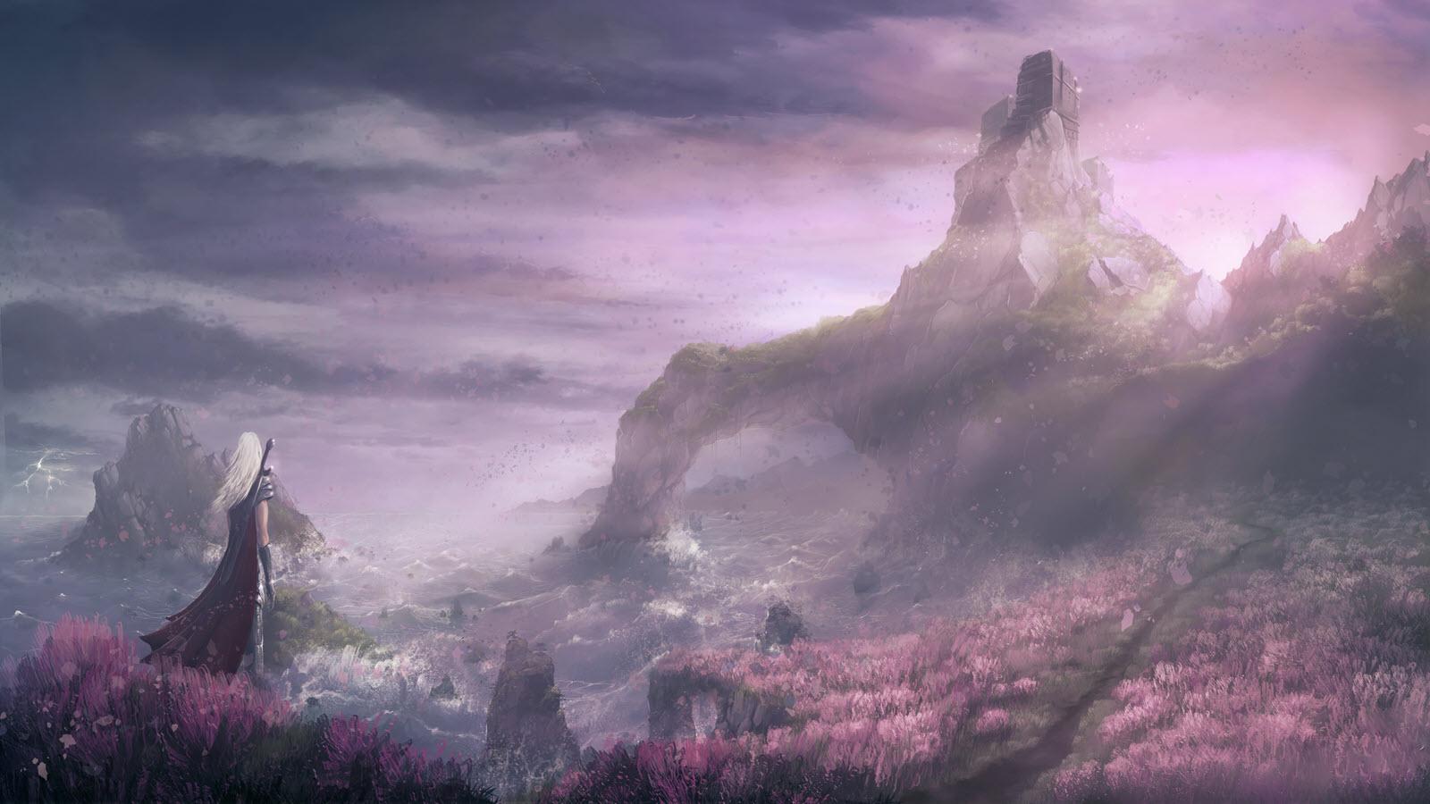 Hình ảnh anime phong cảnh đẹp nhất