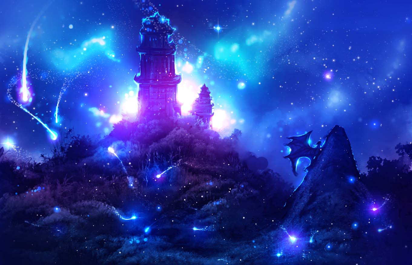 Hình ảnh đẹp nhất về anime galaxy