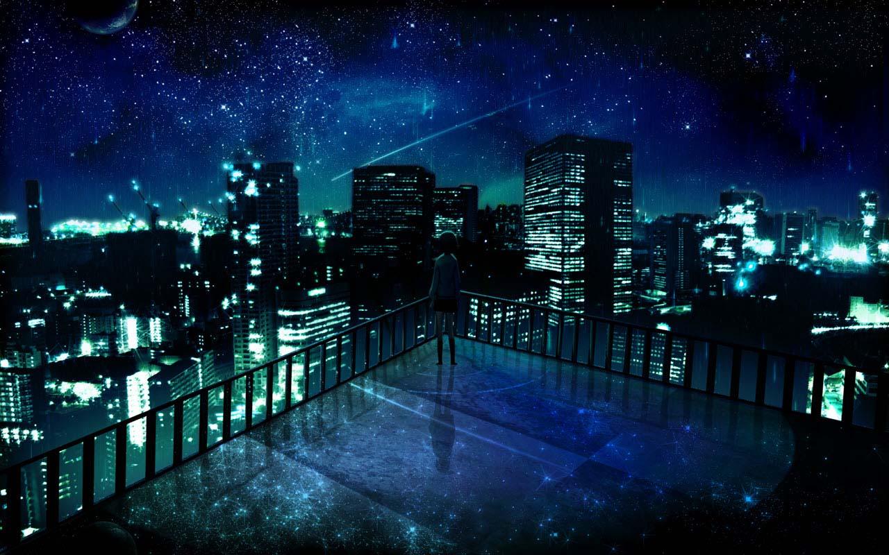 Hình ảnh đẹp về chủ đề anime galaxy