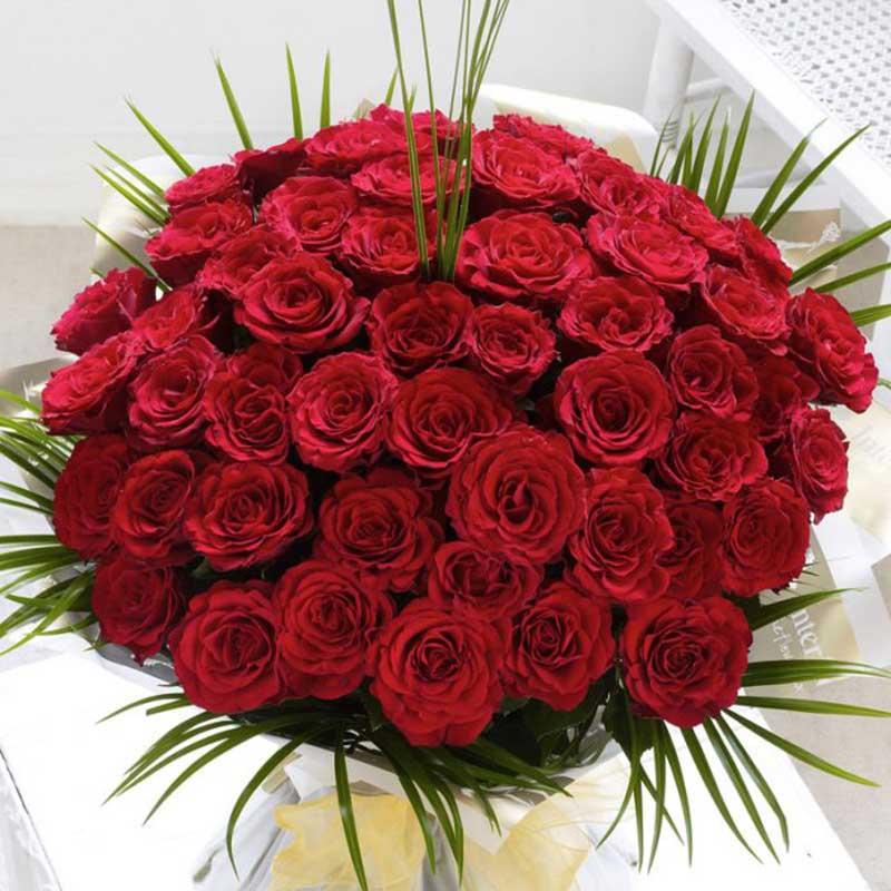 Hình ảnh mẫu hoa cưới hoa hồng đẹp