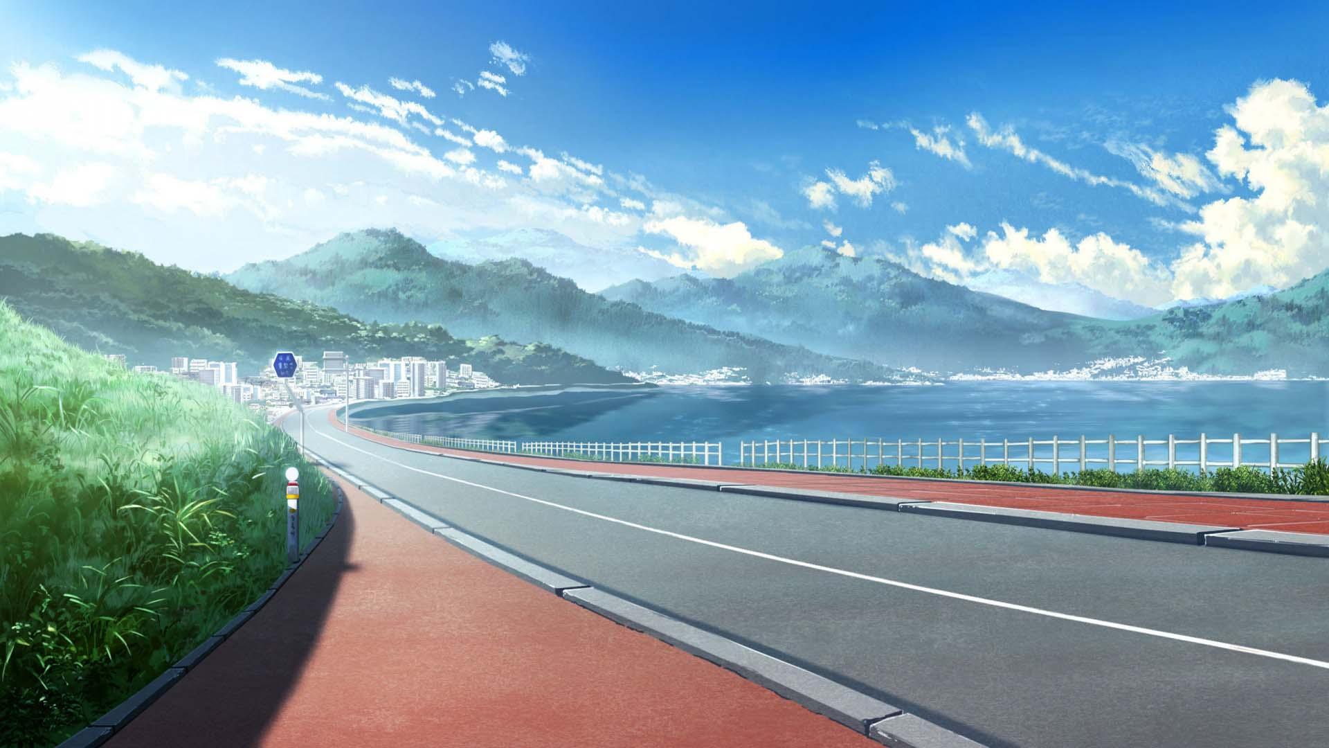 Hình ảnh phong cảnh anime