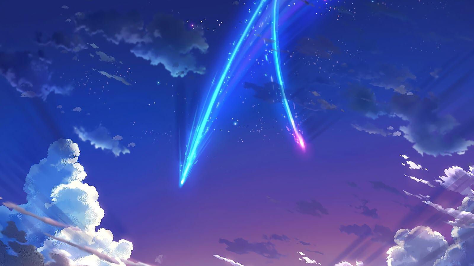 Hình Anime galaxy đẹp