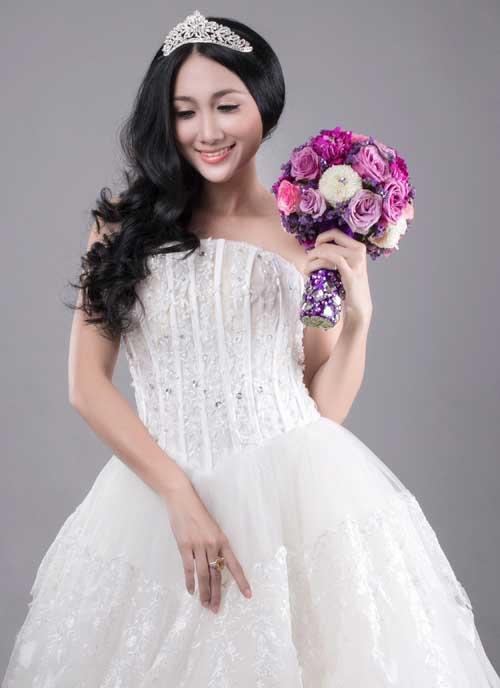 Hoa cưới lãng mạn cho cô dâu