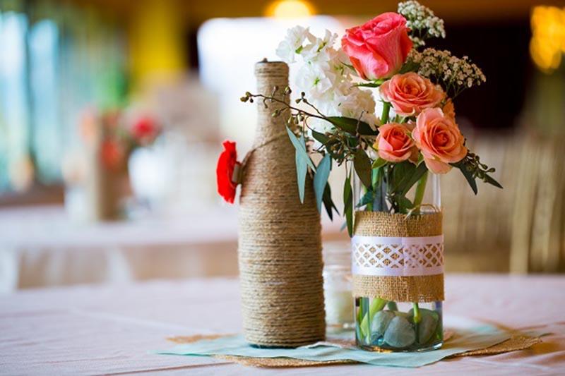 Mẫu cắm hoa cưới để bàn đẹp nhất