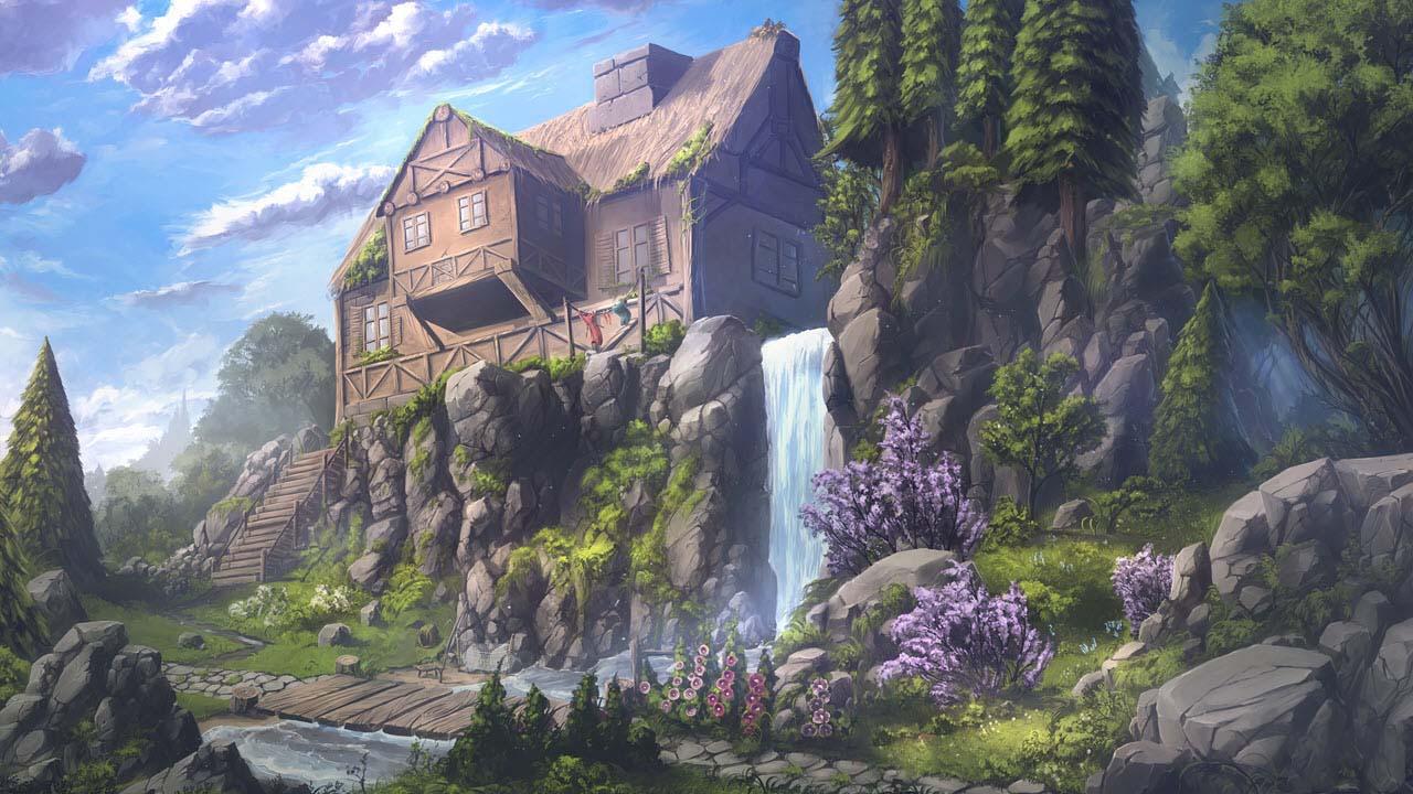 Phong cảnh anime cực đẹp