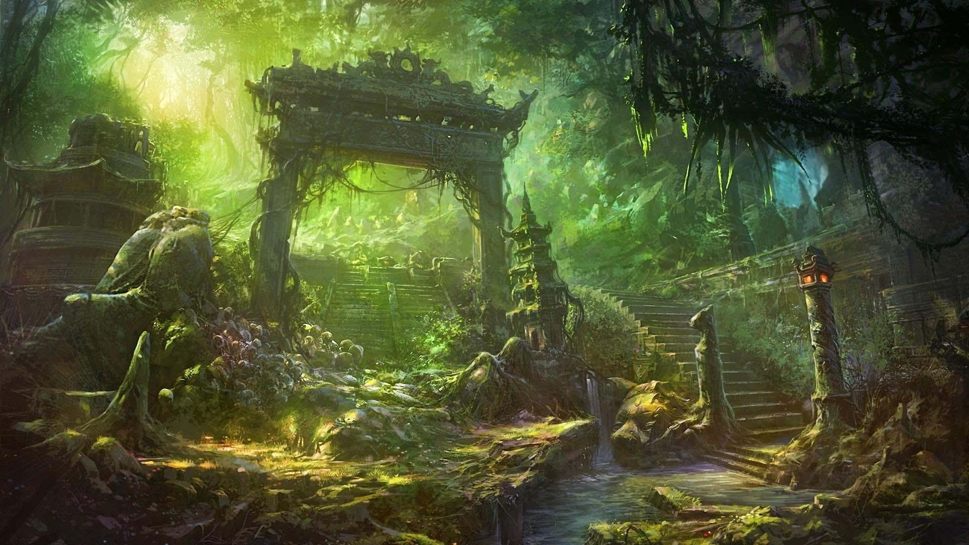 Phong cảnh anime đẹp nhất