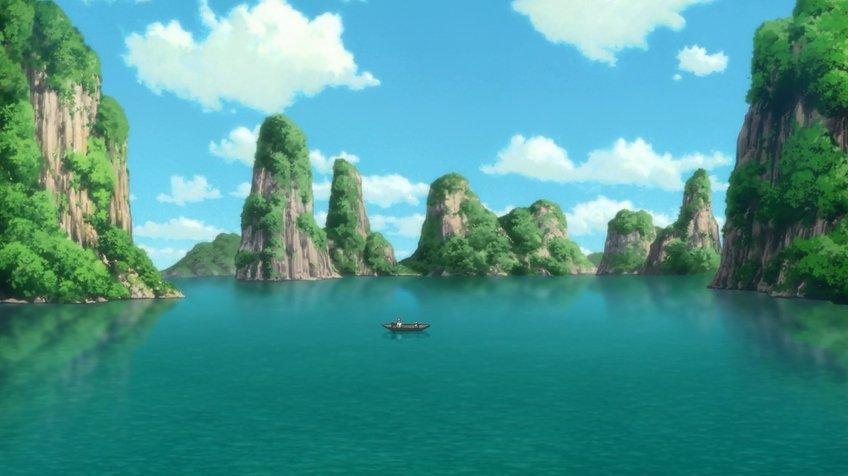 Phong cảnh anime hiếm