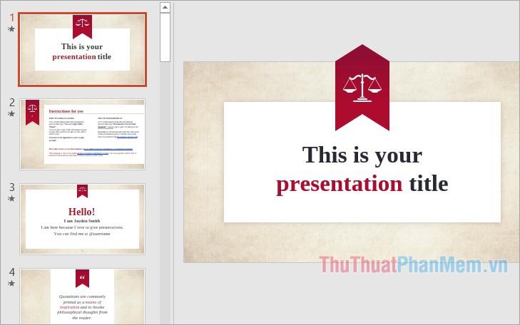 Mẫu slide Powerpoint