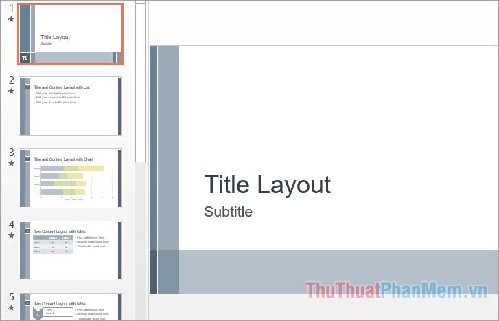 Mẫu theme slide powerpoint đẹp