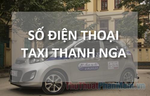Số điện thoại Taxi Thanh Nga Hà Nội