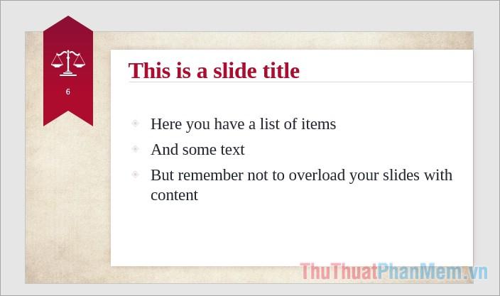 Số lượng chữ trong 1 slide và trên 1 dòng