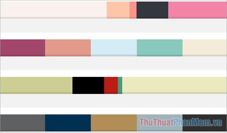 Sử dụng màu sắc phù hợp