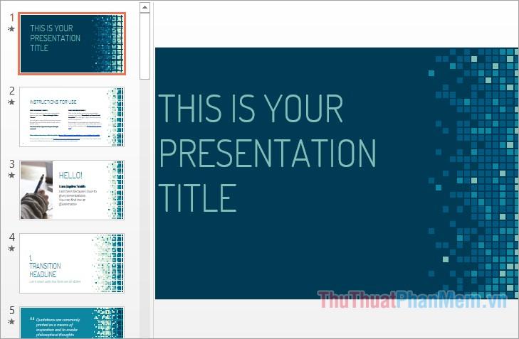 Theme slide powerpoint đẹp nhất
