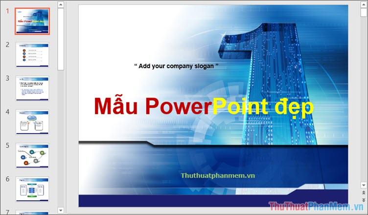 50+ Mẫu Powerpoint đẹp làm thuyết trình