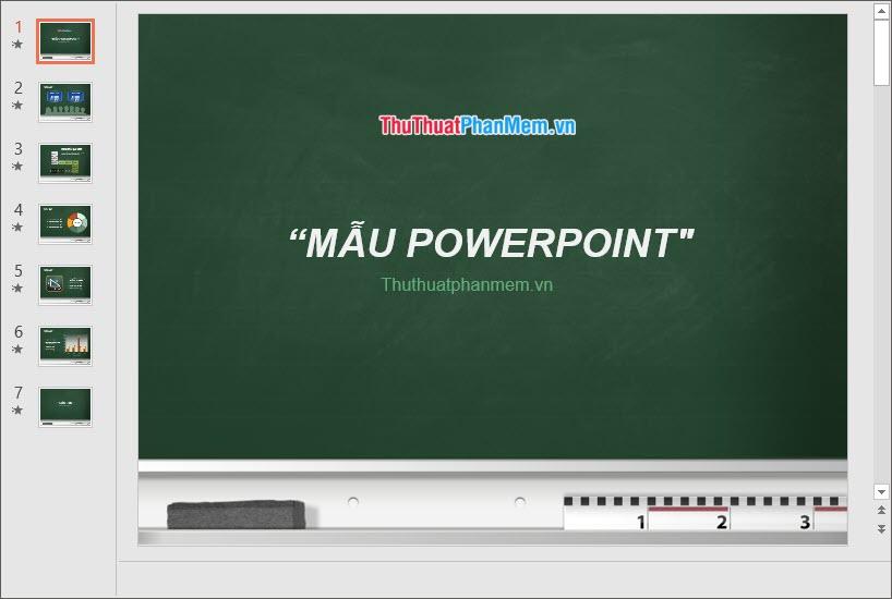 Mẫu PowerPoint đẹp cho giáo viên