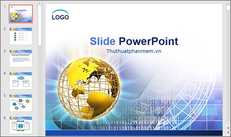 Mẫu PowerPoint đẹp cho thuyết trình