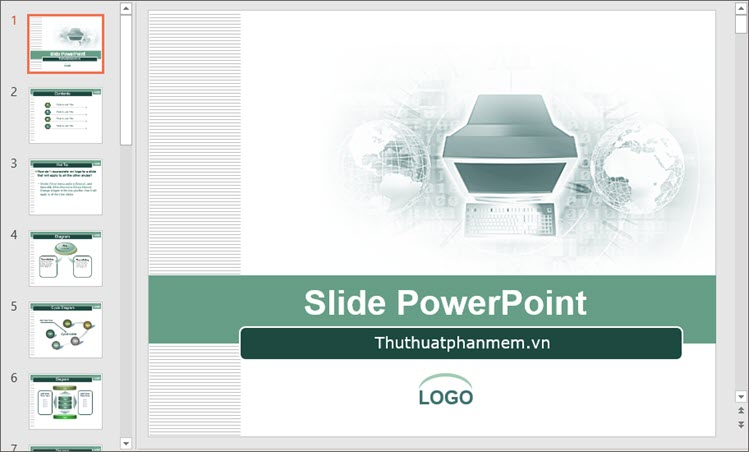 Mẫu PowerPoint đẹp nhất