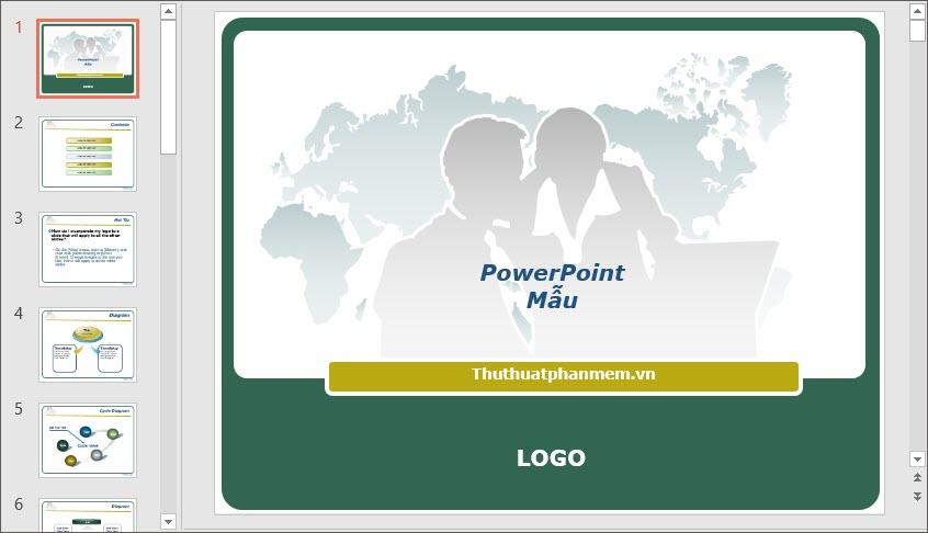 Mẫu PowerPoint đẹp