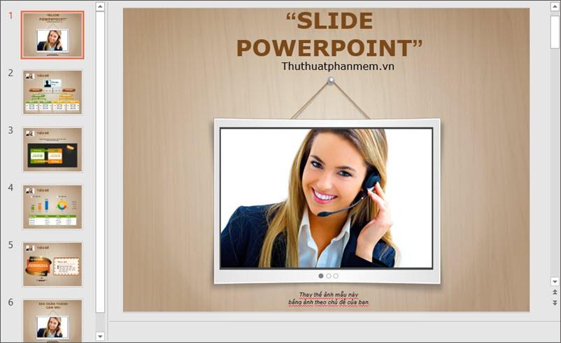 Mẫu PowerPoint thuyết trình độc đáo