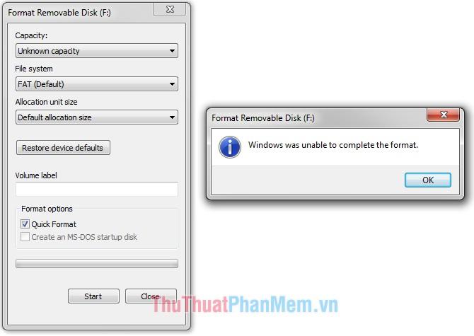 USB được bảo vệ chống ghi chép dữ liệu