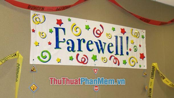 Farewell, Farewell Party là gì