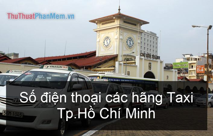 Số điện thoại các hãng Taxi ở Tp Hồ Chí Minh 2021