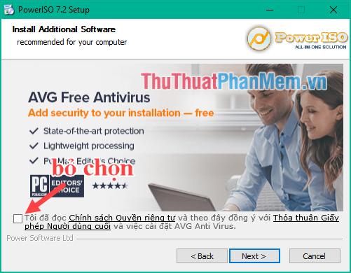 Tải và cài đặt phần mềm PowerISO