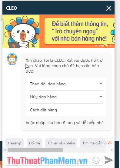 Dịch vụ giải đáp chatbot