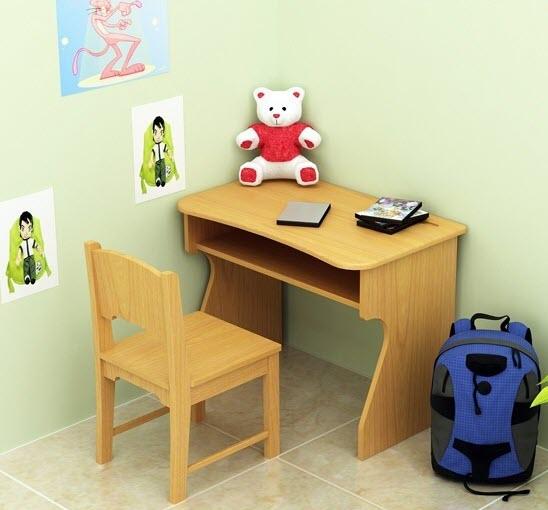 Mẫu bàn ghế học sinh bằng gỗ