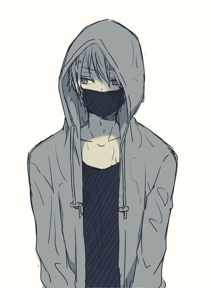 ảnh anime boy  đẹp và buồn