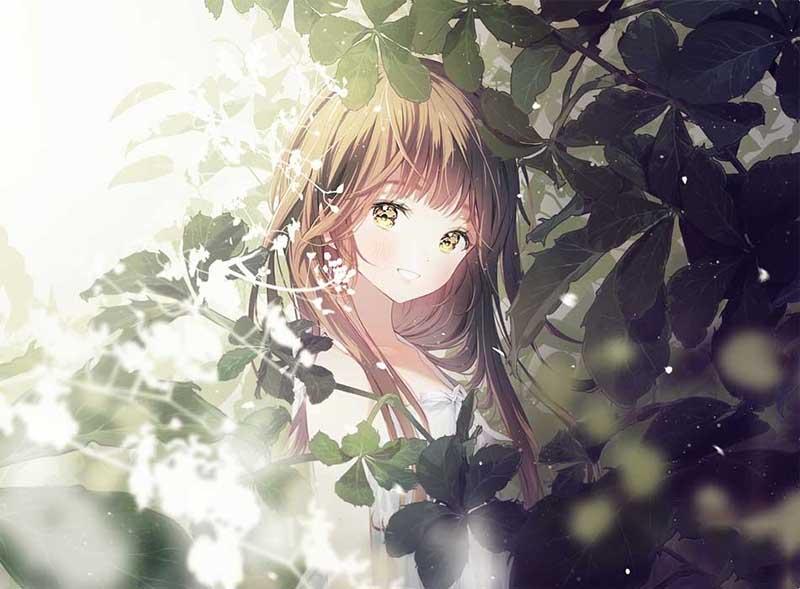 Hình ảnh anime buồn hút thuốc