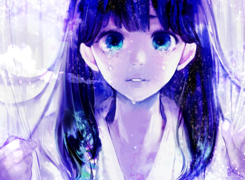 Hình ảnh anime couple buồn