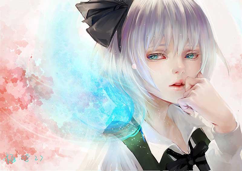 Hình ảnh anime girl buồn thất tình