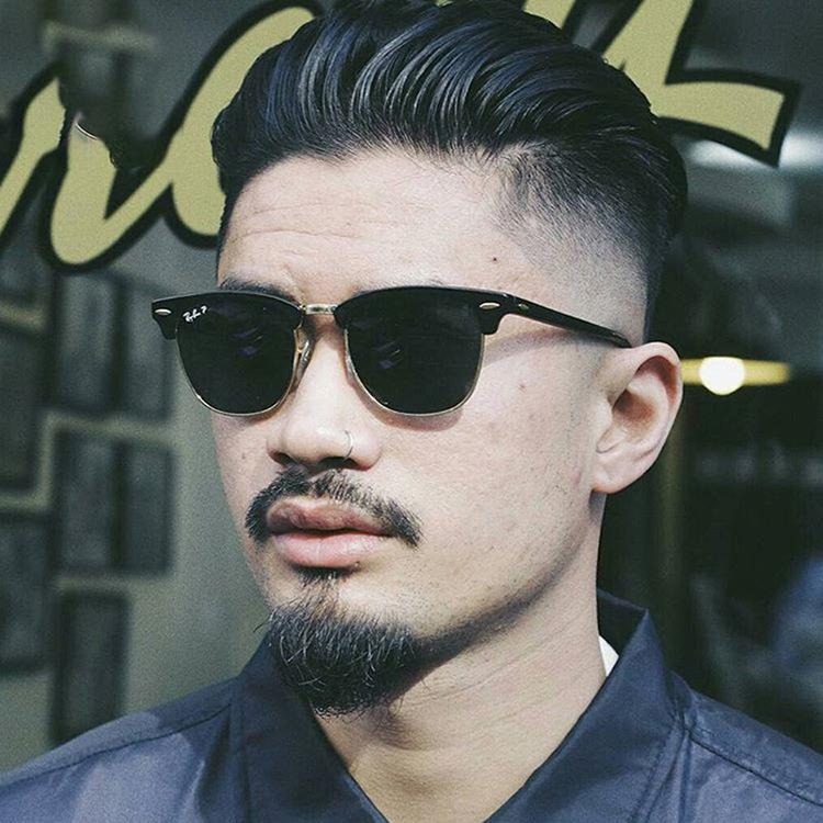 Kiểu tóc nam đẹp Medium-Slickback