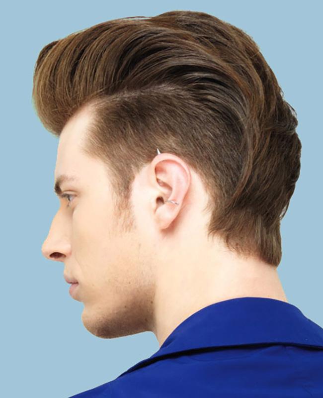 Kiểu tóc nam ngắn cho chàng mặt tròn