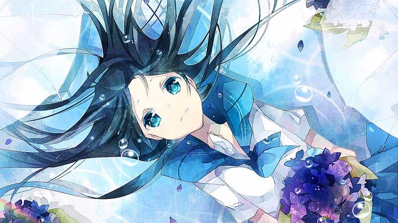 Tổng hợp hình ảnh anime buồn khóc trắng đen