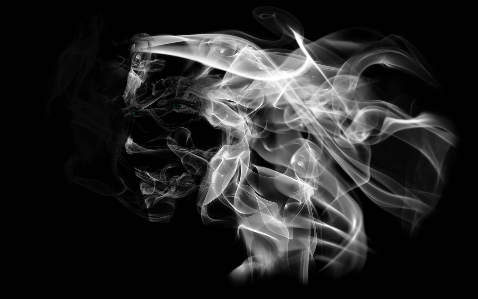 Ảnh nền khói màu đen đẹp