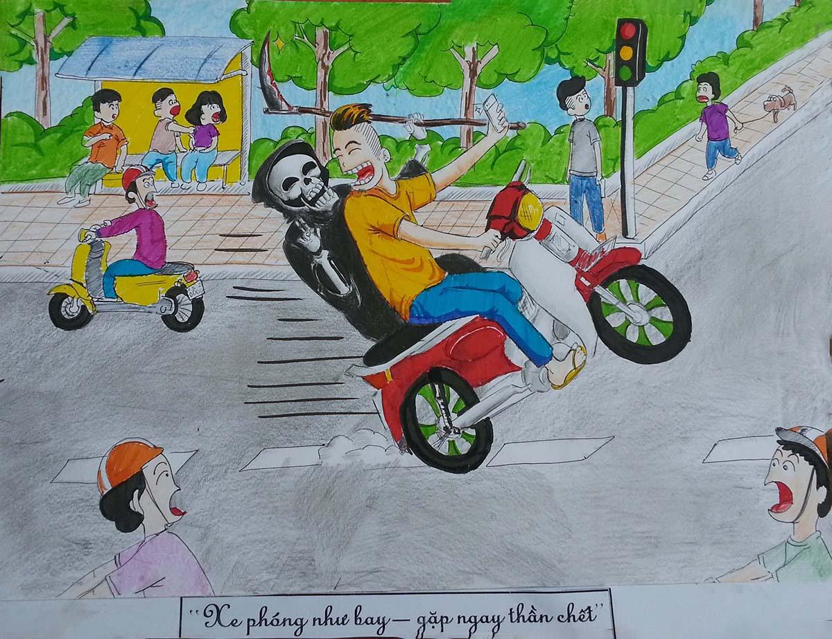 Hình ảnh tuyên truyền an toàn giao thông