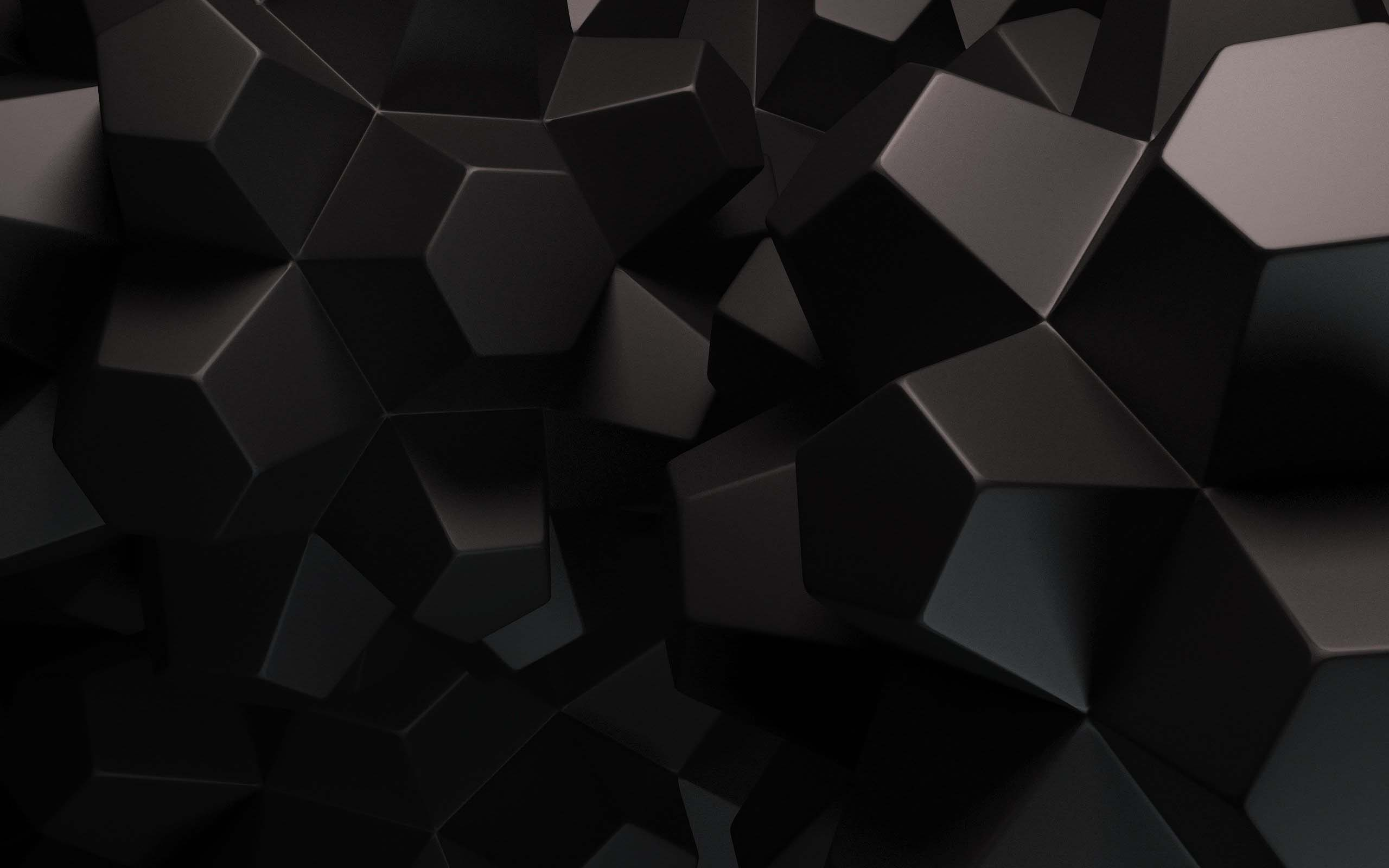 Hình nền đen 3D