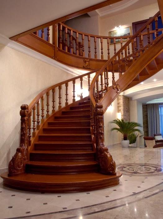 Ảnh mẫu cầu thang gỗ đẹp nhất